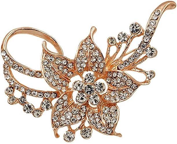 Gold/&Pink Alloy Enamel Flower Petal Jewelry Pendants Findings Charms 28x 50993