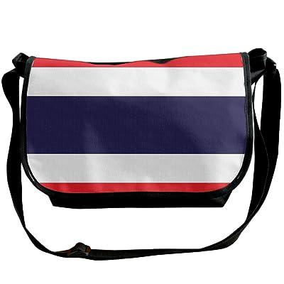 Futong Huaxia Flag Of Thailand Travel Messenger Bags Casual Handbag School Shoulder Bag Crossbody Bag Unisex Sling Bag
