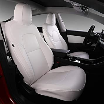 Amazon Com Xipoo Model 3 Car Seat Cover Pu Leather Cover All