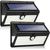 Solar Lights Outdoor Garden, MODAR 44LED with 3 Lighting Modes, Waterproof Solar Motion Sensor Lights with 270°Wide…