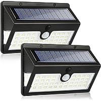 Solar Lights Outdoor Garden, MODAR 44LED with 3 Lighting Modes, Waterproof Solar Motion Sensor Lights with 270°Wide…
