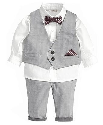 e41438c552f2 Amazon.com: StylesILove Infant Toddler Young Kids Little Boy 4-piece ...