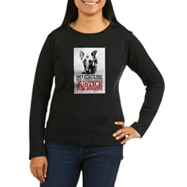 CafePress - No Excuse for Animal Abuse Long Sleeve T-Shirt - Women s Long  Sleeve 48e50f837