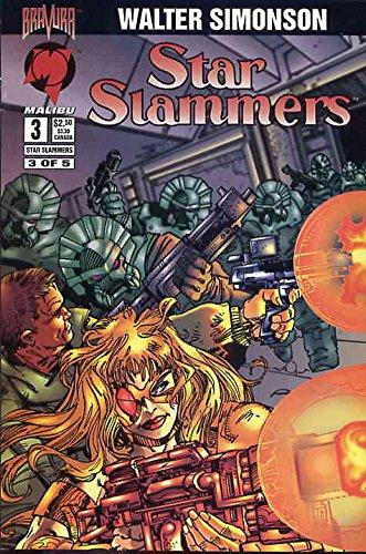 Star Slammers (Malibu) #3 VF/NM ; Malibu comic book