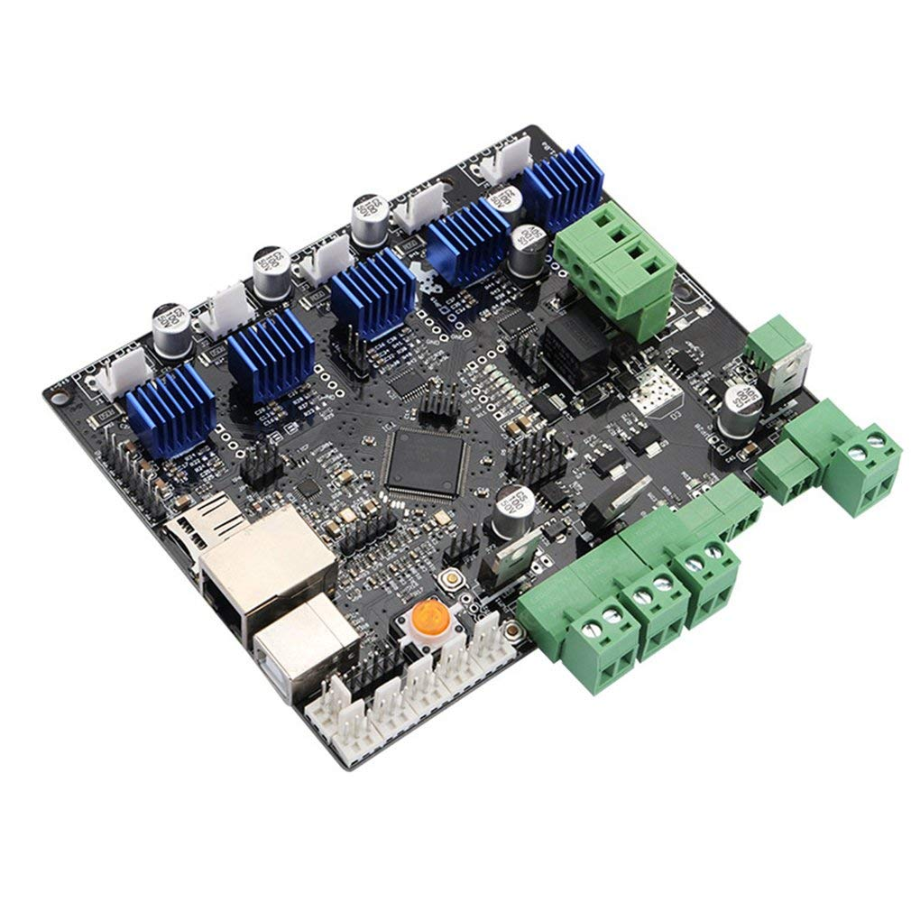 Zamtac 3D Printer Motherboard Engraving Machine Main Control Board Smoothieboard 5X V1.0 CNC Open Source firmware - (Color: Black) by GIMAX (Image #5)