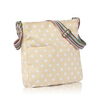 Ladies Girls Butterfly Owl Flower Polka Dots Cross Body Bag Canvas Bag  Messenger School Bag ( 4cdfc7cf8e