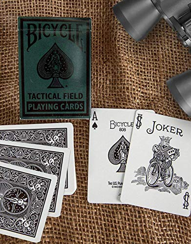 Bicycle Tactical Field Playing - Cards Playing Field