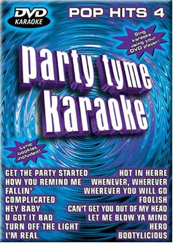 Party Tyme Karaoke: Pop Hits, Vol. 4 (Party Tyme Karaoke Dvd)