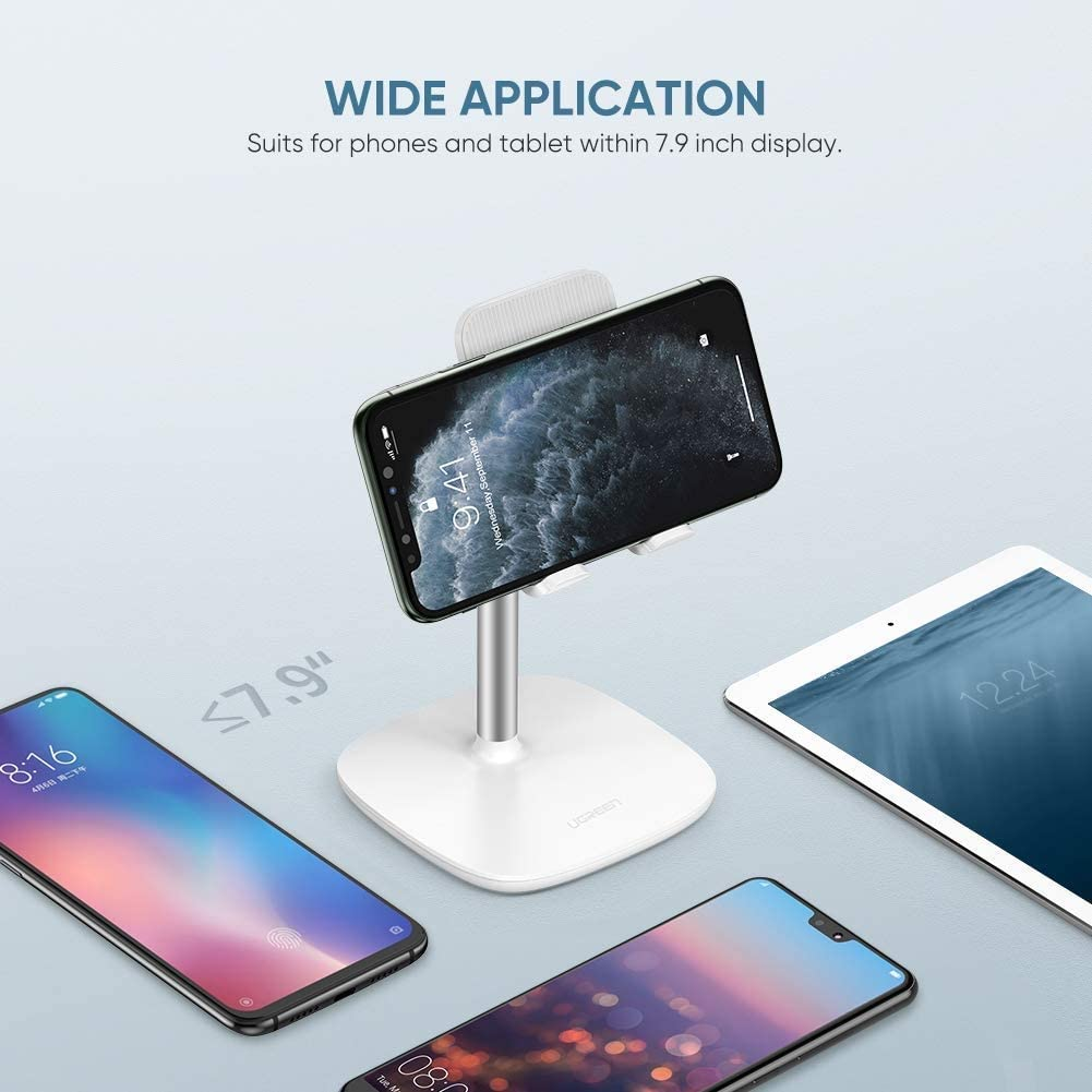 Samsung Galaxy S10 Plus S9 S8 Note 9 8 S7 S6 Google Pixel 3 XL Adjustable LG V40 V30 G7 G6 Smartphone ASJHK Cell Phone Stand Desk Holder Compatible for iPhone 11 Pro Max XS XR 8 Plus 6 7