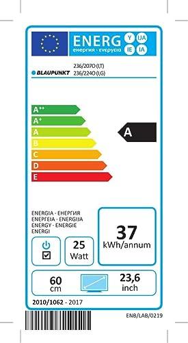 Blaupunkt LED HD TV, 60 cm (23,6 Zoll), Triple-Tuner, BLA