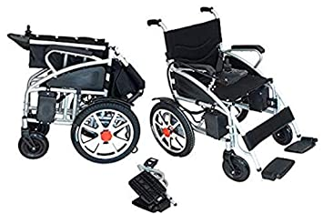 2019 Updated ComfyGo Electric Wheelchairs Silla de Ruedas Electrica para Adultos FDA Approved Transport Friendly Lightweight