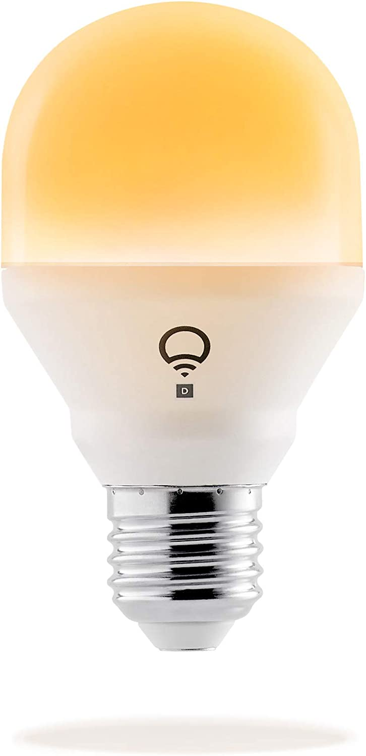 LIFX Mini Day & Dusk (E27) Ampoule smart LED connectable Wi-Fi, ajustable,...