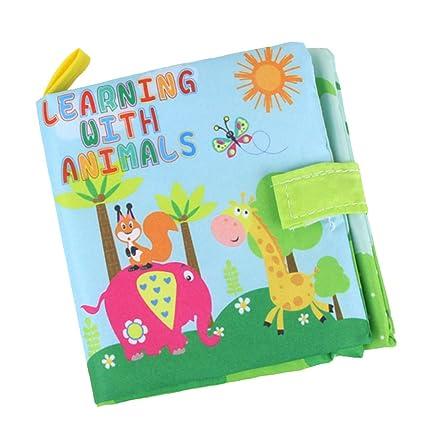 D DOLITY Libro de Aprendizaje para Bebés Regalo de ...