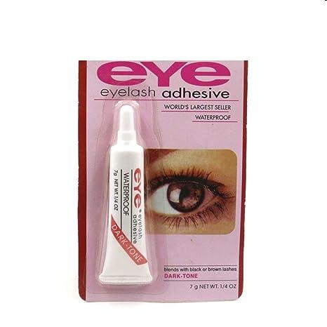 43f438e4a91 BoldnYoung Waterproof False Eyelashes Glue: Amazon.in: Beauty