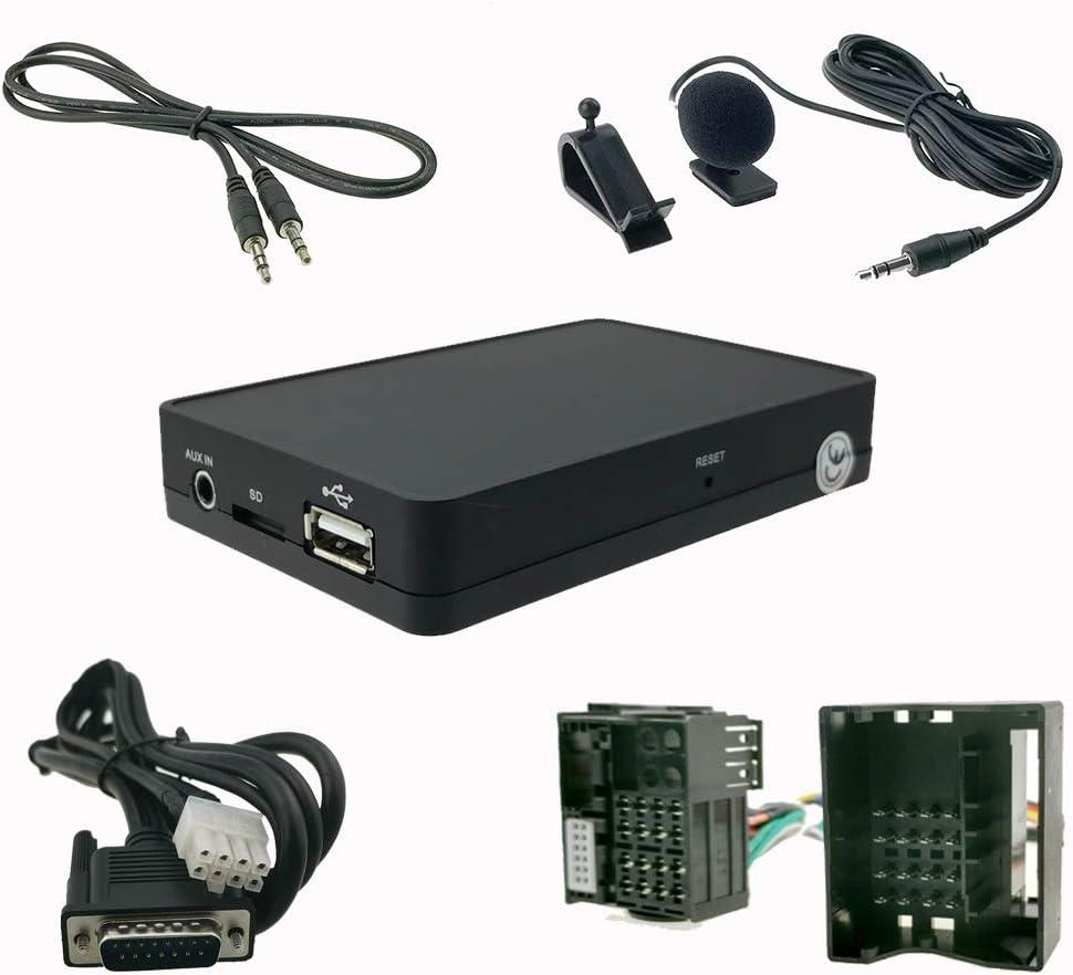 Bluetooth Freisprecheinrichtung A2dp Usb Sd Aux Elektronik