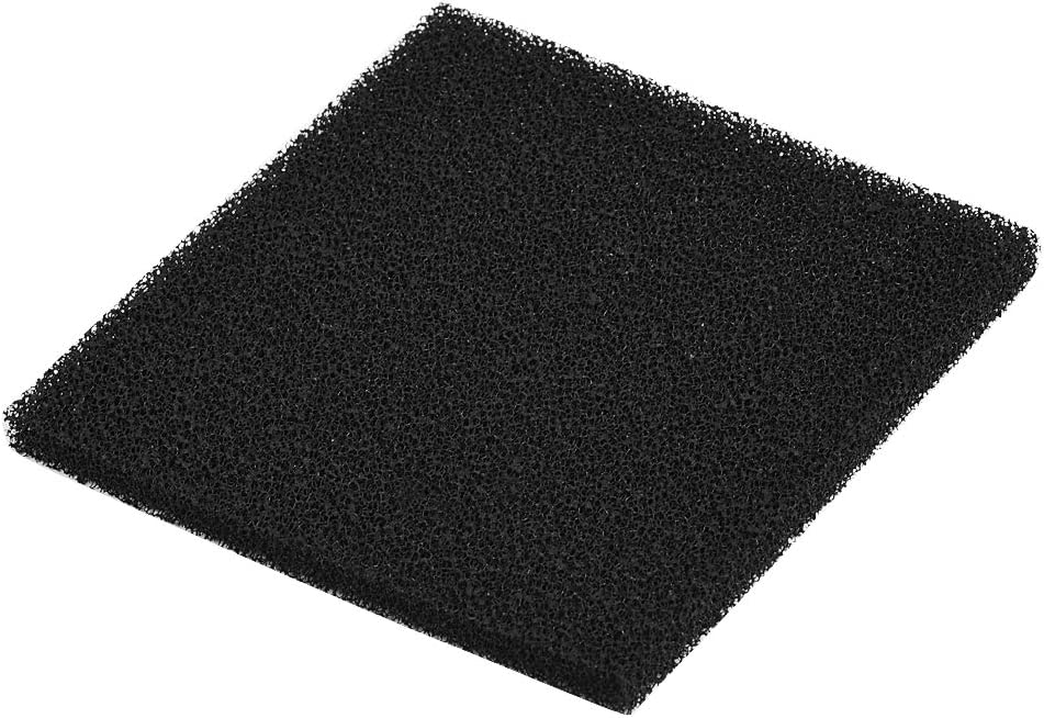 ASHATA Filtro de carbón Activado, 10pcs 13cm x 13cm Reemplazo Cuadrado del Filtro del absorbedor de Humo Prefiltro Activado con carbón para soldar el Extractor de Humos del absorbedor de Humo