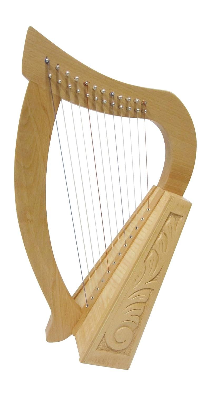 Angelsworld–Arpa infantil celta Harp 12cuerdas de haya