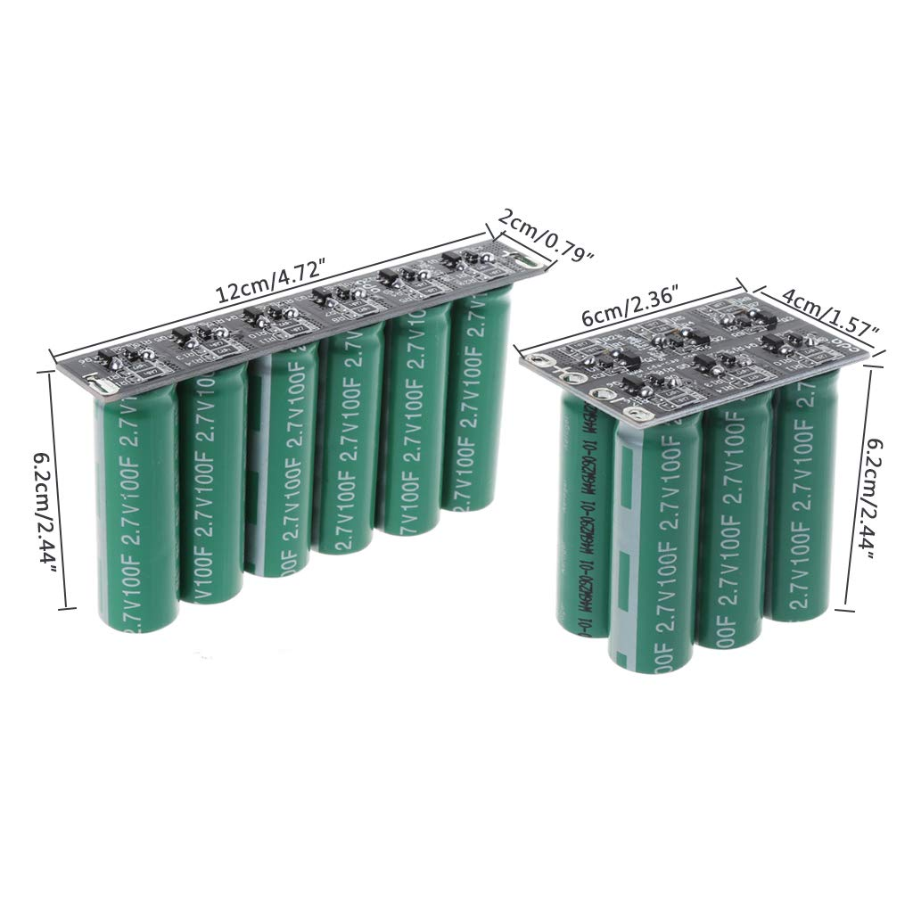 Jenor 16/V 20/F Ultracapacitor motore batteria starter booster auto Super condensatore 1 1