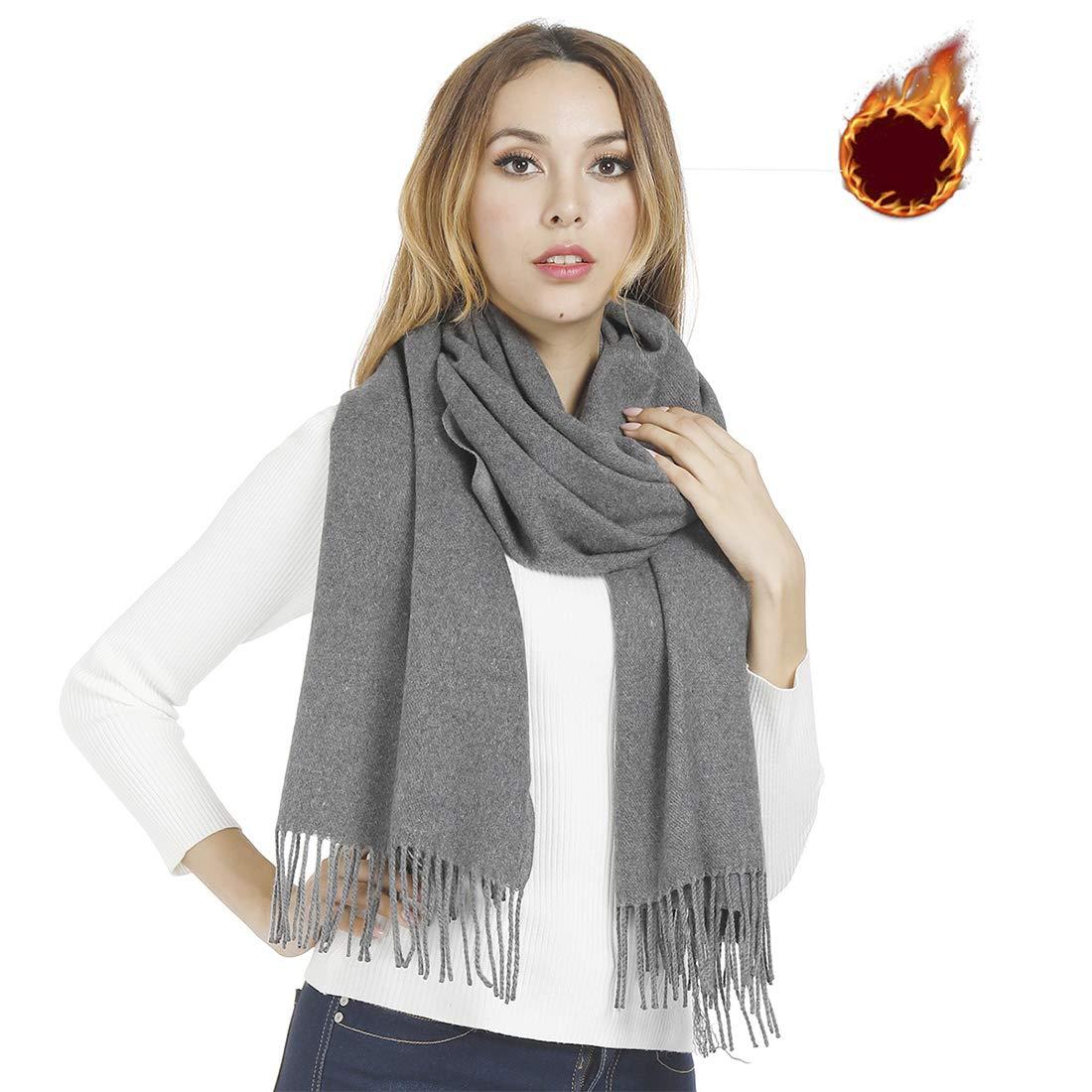 Gogogoal Écharpe en cachemire Châle Pashmina foulard Femme Homme, Longug,  Chaleureux, grande 80 b6b8a51f5c1