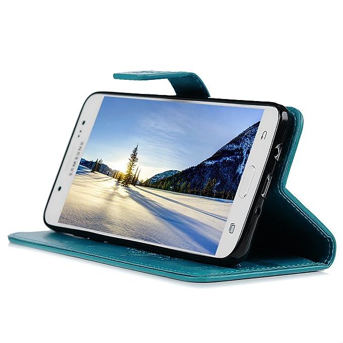 Funda para Samsung Galaxy J5 2016 J510, Libro de Cuero Impresión de Suave PU Premium e Silicone TPU Carcasa, Correa de mano, Soporte Plegable, Ranuras ...