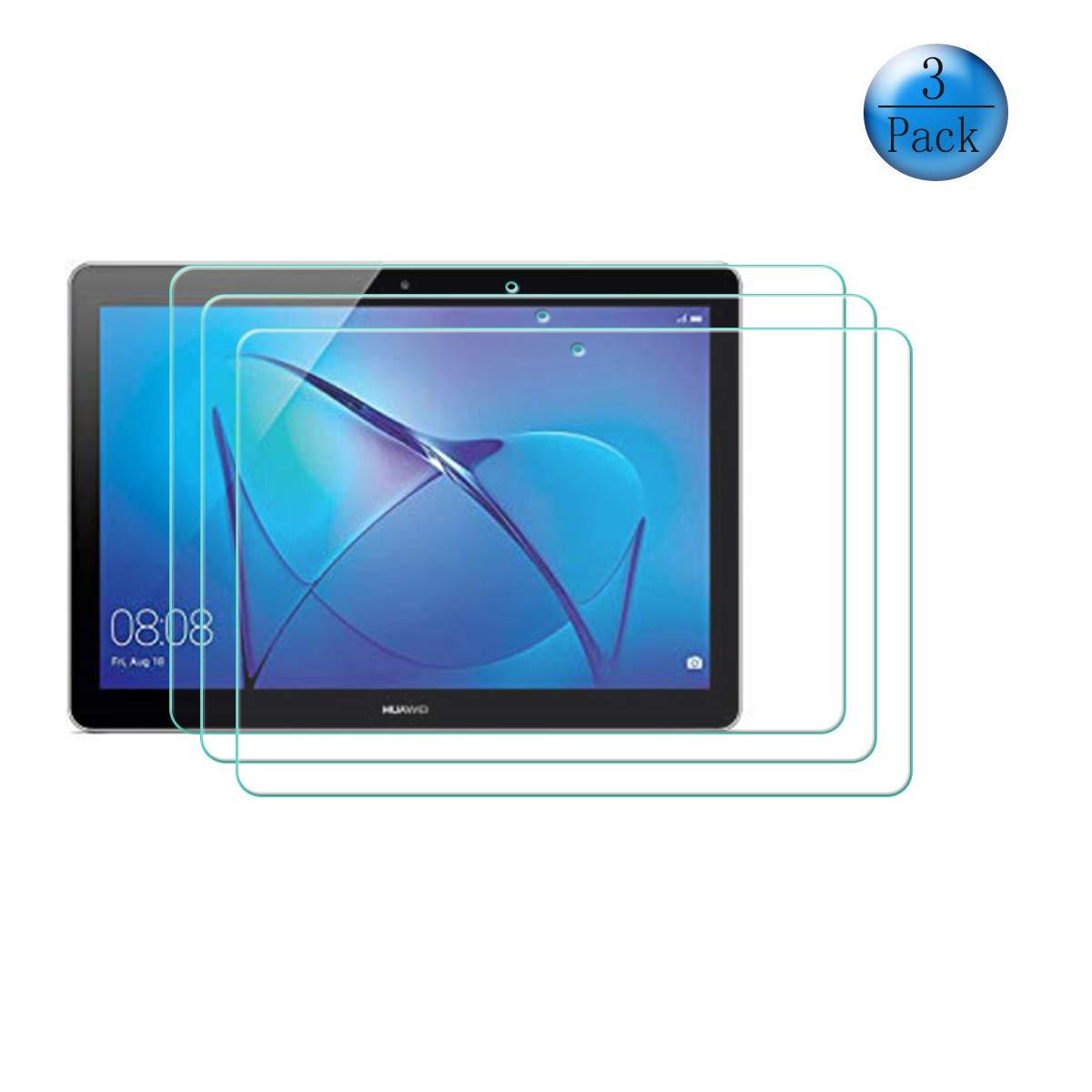 szjckj Magnetico Custodia + 2 Pezzi HD Vetro Temperato per Huawei MediaPad T3 10 (9,6\'), Alta qualità Film Pellicola Screen Protector - Pieghevole Cover schede Copertura Antiurto Protettiva - LW24