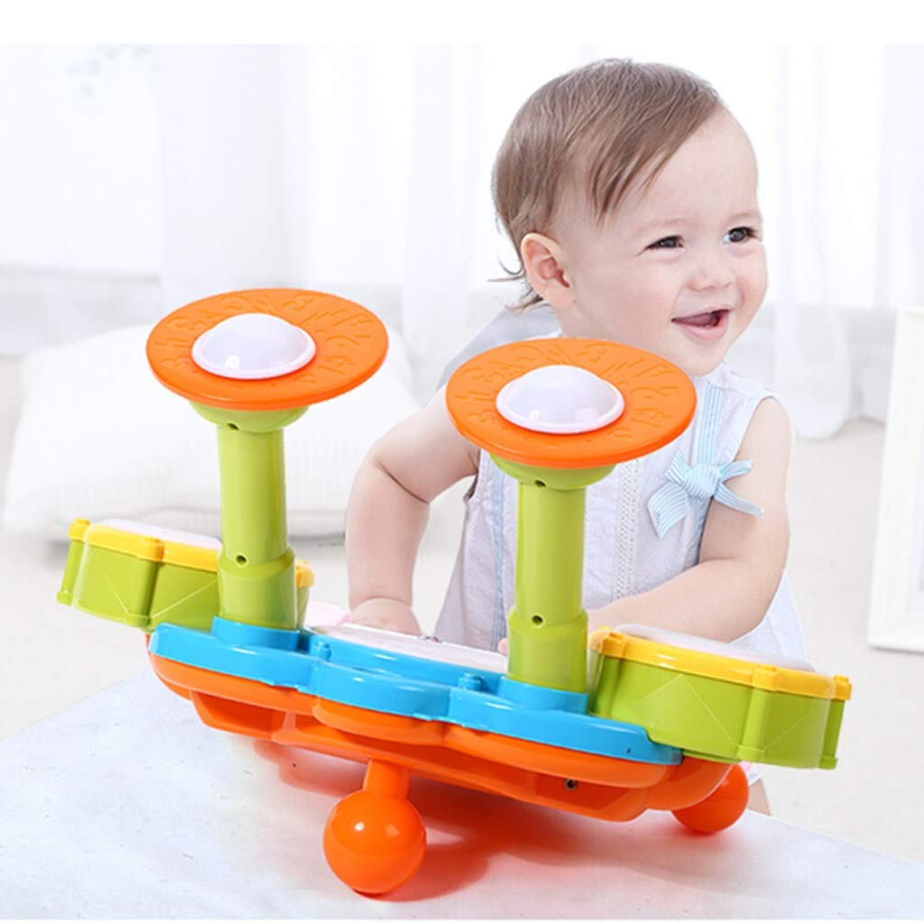 HXGL-Trommel Kindertrommeln Musik Lernspielzeug Percussion Charging Version (größe : : : M) fa5277