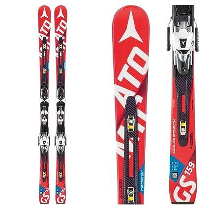 Amazon.com   Atomic Redster FIS Doubledeck GS J Junior Race Skis ... f32206fd7e1