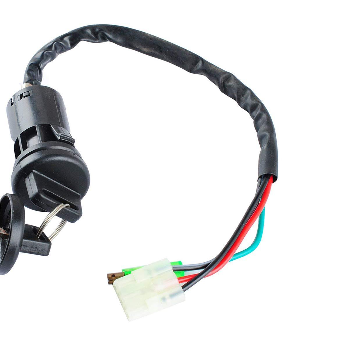Ignition Key Switch with Spark Plug for HONDA TRX400EX TRX 400EX 1999 2000 2001 2002 2003 2004