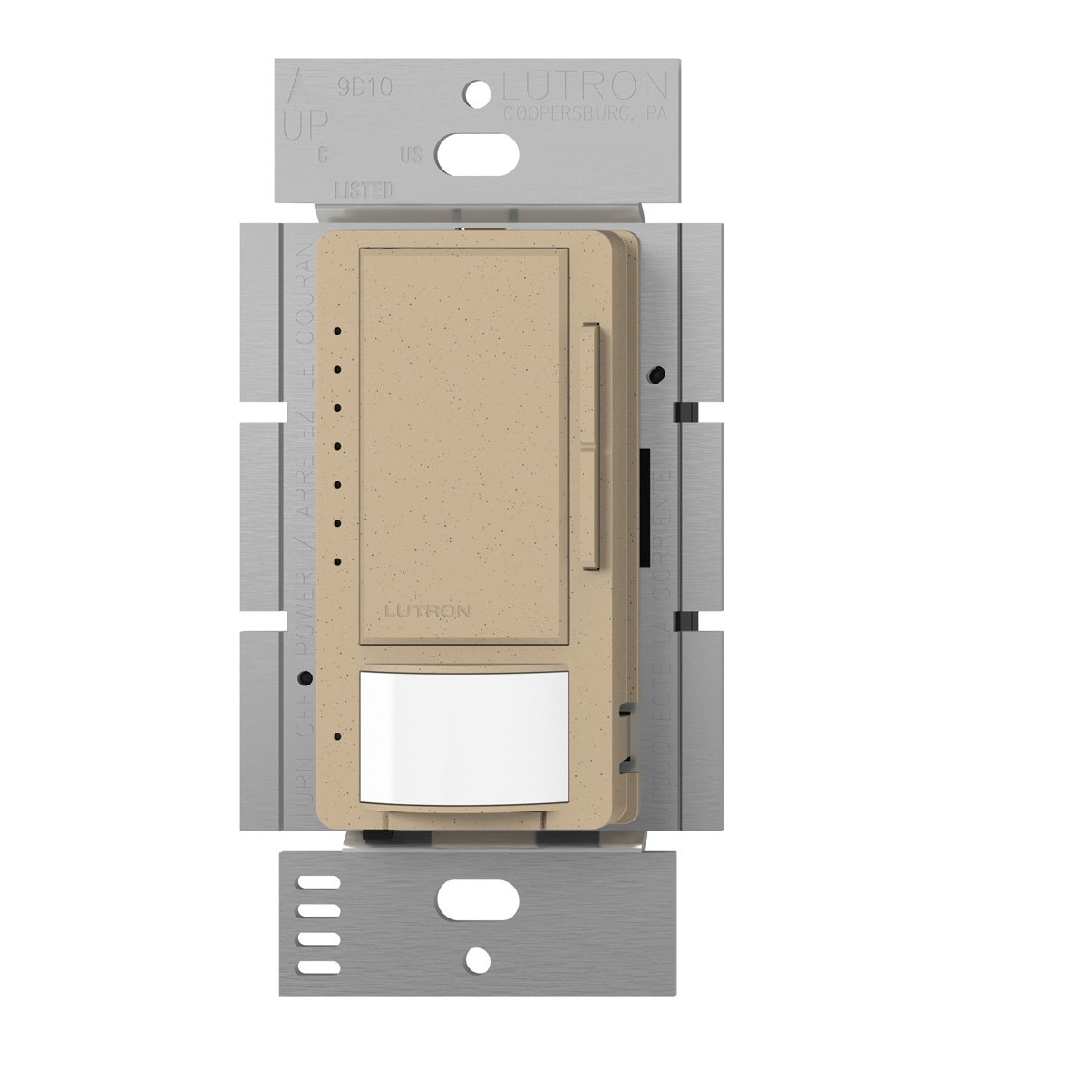 Lutron MSCL-VP153M-DS Maestro CL Single Pole Multi Location Vacancy Sensing Dimmer, Desert Stone by Lutron B00FQL1Y9O  Desert Stone