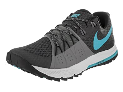 NIKE Mens Air Zoom Wildhorse 4 Anthracite/Blue Fury/Cool Grey Running Shoe 8.5