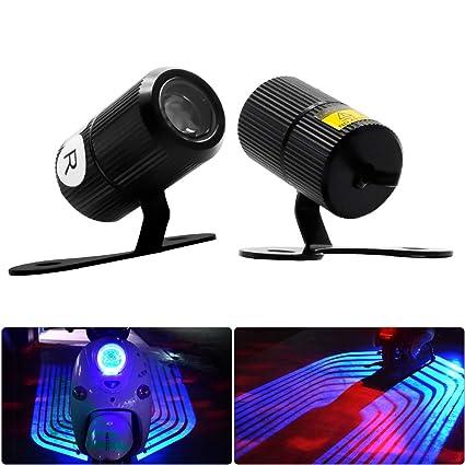 Faro proyector LED de cortesía para coche: Amazon.es: Coche y moto