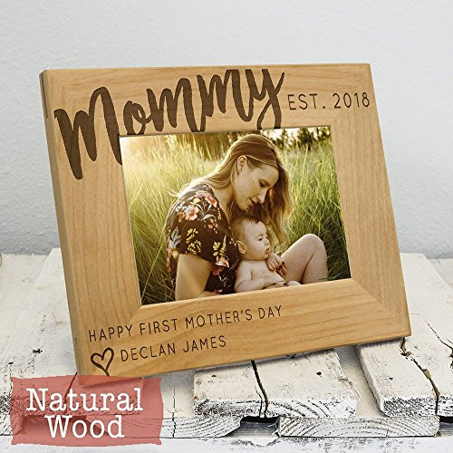 Gift for Mom - Mothers Day Gift - 1st Mothers Day - First Mothers Day - New Mom Gift - Personalized Gift - Gift from Child - Gift for Her Mother Child Photo