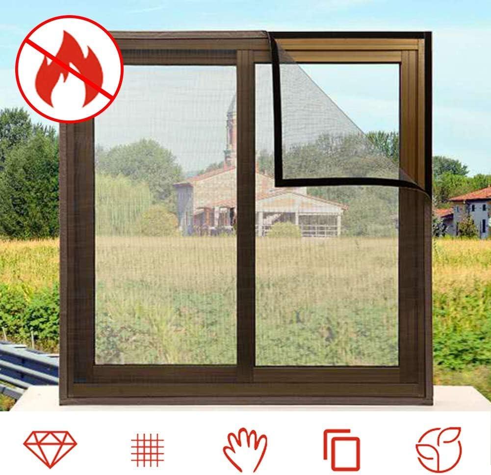 MJMZNDQ Mosquiteras para Ventanas De Aluminio,Fácil Instala Y Puede Lavar Y Duradero,para,Protección Anti Insectos Y ...
