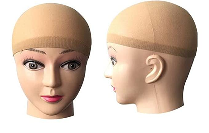 2 Pack Wig cap (skin color)