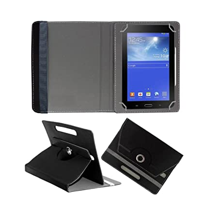 Fastway Rotating Flip Cover For Lenovo Tab 2 A7 20 Black Tablet Accessories