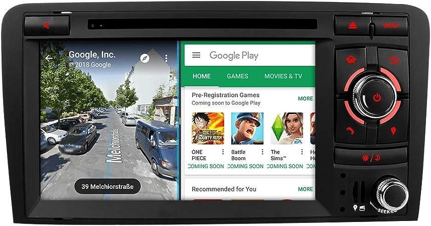 Junhua Car Radio 7 Inch Lcd Android 8 1 8 0 2gb Ram Car Radio Dvd Gps Dab Obd2 Bt 5 0 Dab Rds Wifi 4g Lte For Audi A3 S3 Rs3 8p 8v 8pa 8mua3s