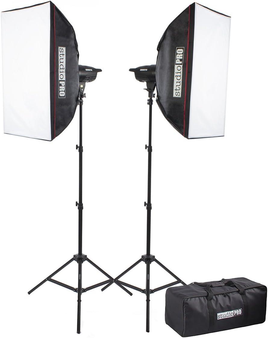 Fovitec StudioPRO Single 100W//s Monolight Photography Photo Studio Strobe Flash Umbrella Lighting Kit
