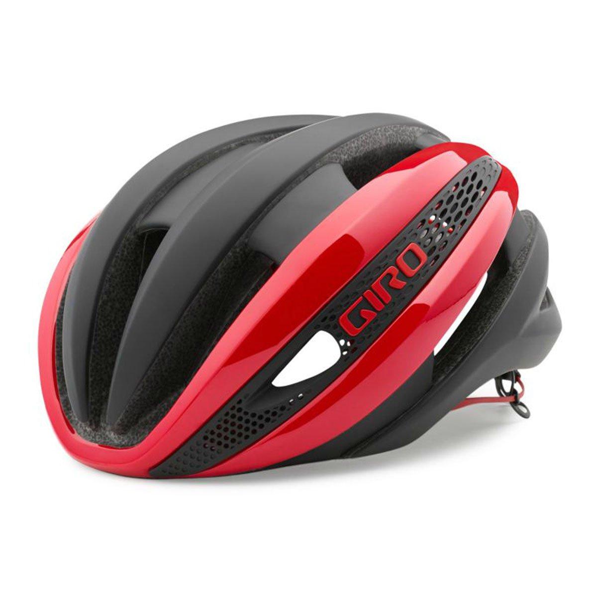GIRO(ジロ) ヘルメット SYNTHE RED/MAT BLK Sサイズ   B00MX3U4WG