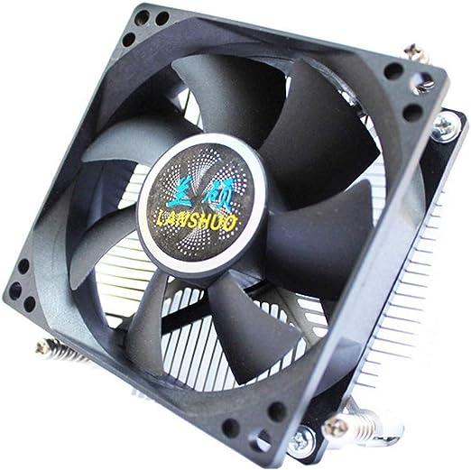 LINANNAV CPU disipador de Calor 1156 núcleo de Cobre Control de ...