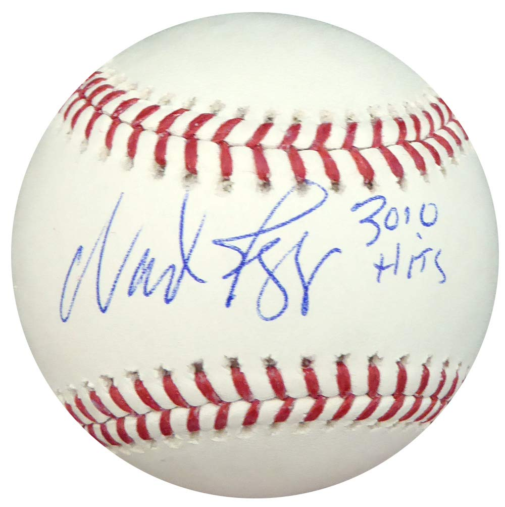 WADE BOGGS AUTOGRAPHED OFFICIAL MLB BASEBALL BOSTON RED SOX'3010 HITS' BECKETT BAS STOCK #137959