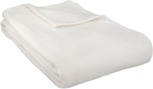 ALTA Luxury Hotel Fleece Blanket Tan Cozy Fleece 9005-FQ-TAN Full Queen