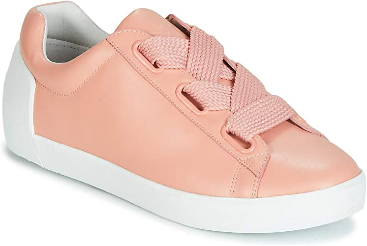 Ash NINA Trainers Nude Pink Leather