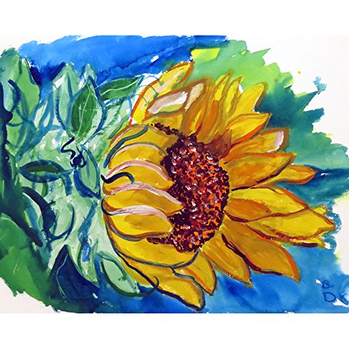 Betsy Drake PM544 Windy Sunflower Place Mat, Set of 4 from Betsy Drake