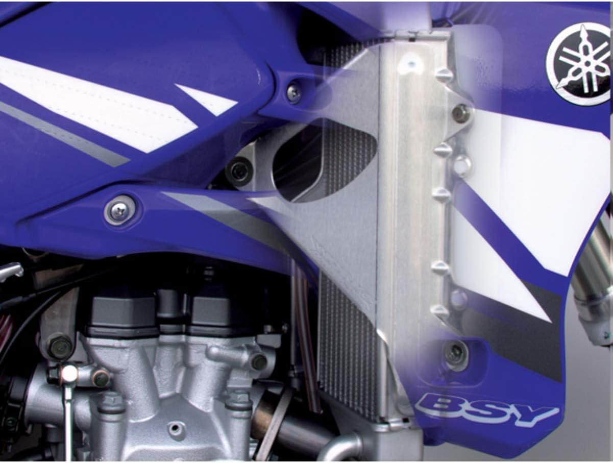 05-07 HONDA CR125 Works Connection Radiator Braces Silver