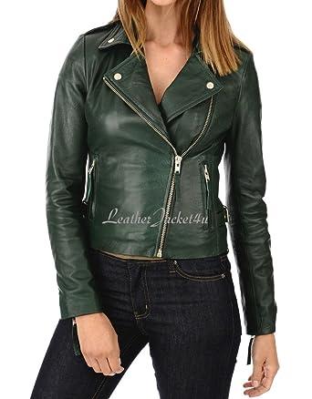 Leatherjacket4u Women Leather Jacket 61 At Amazon Women S Coats Shop