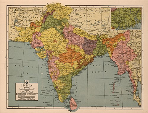 Map Poster - India