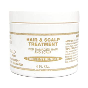 Amazon Com Baby Don T Be Bald Gold Hair And Scalp Treatment 8 Oz