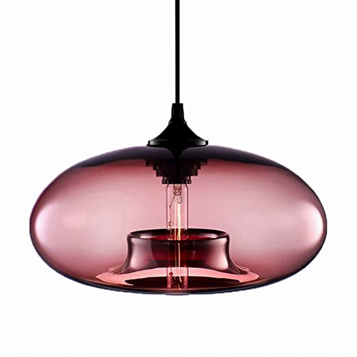 newrays industrial hanging single glass pendant lights kitchen rh amazon co uk glass mini pendant lights for kitchen island seeded glass kitchen pendant lights