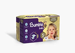 Bumble Baby Diapers Size 5 (11-25 KG) 52 Counts
