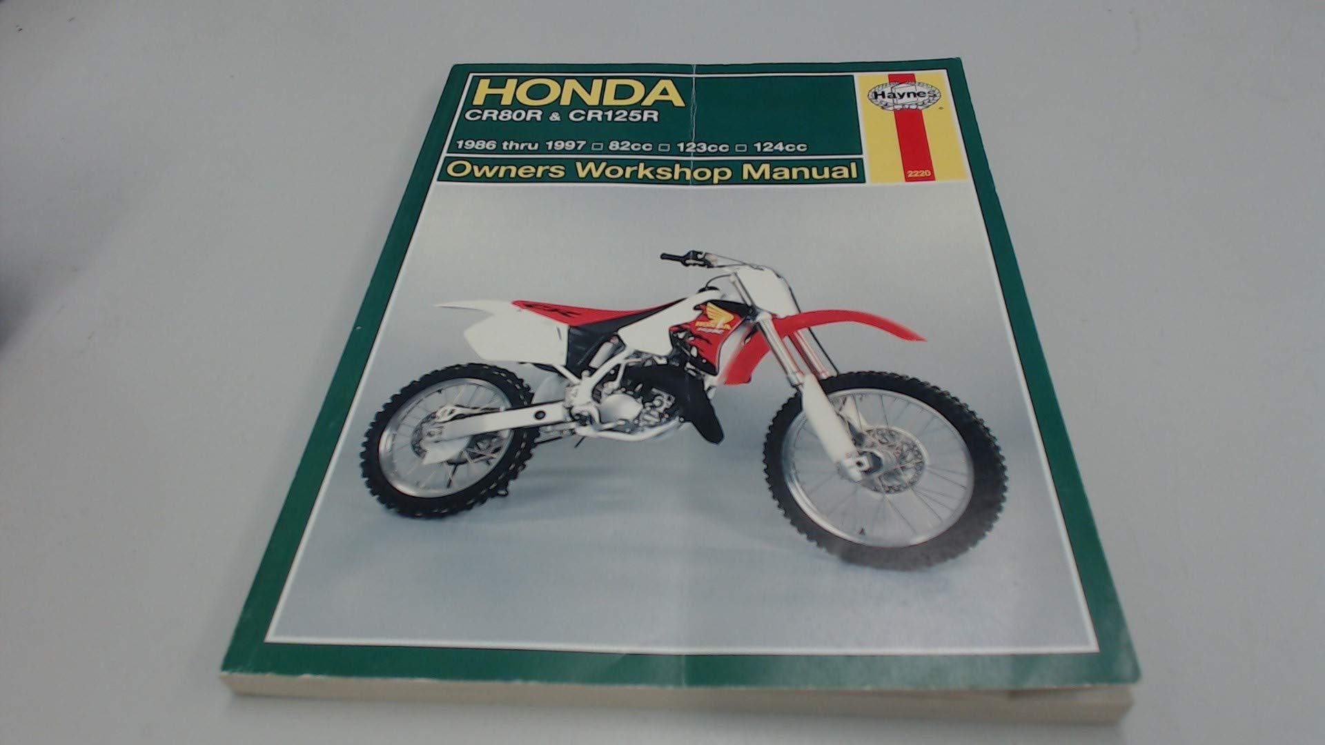 Buy Honda CR80 & CR125R (86-97) Service & Repair Manual (Haynes service &  repair manual series) Book Online at Low Prices in India | Honda CR80 &  CR125R ...
